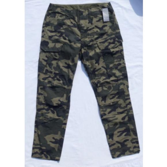 88582f45 G-Star Pants | G Star Raw Recroft Tapered Combat Camo Pant | Poshmark